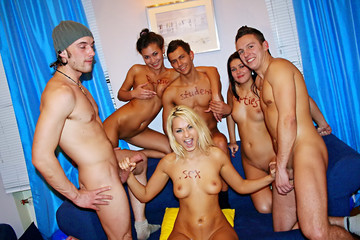 College orgy for a birthday girl, part 4