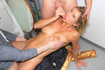 Blonde cutie stars in public fuck video for cash